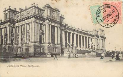 """CPA AUSTRALIE """"Melbourne, Maison du Parlement"""""""