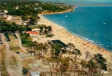 """CPSM FRANCE 83  """"La Croix Valmer , la plage de la Croix"""""""