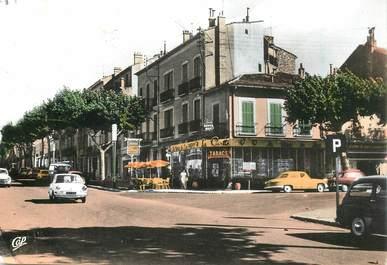 """CPSM FRANCE 83   """"Draguignan, la Civette, Bld G. Clémenceau"""""""