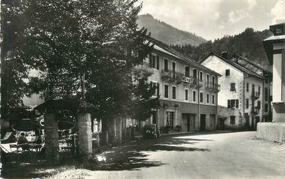 ".CPSM  FRANCE 74 ""Abondance, Hôtel des Alpes"""