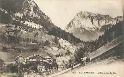 """.CPA  FRANCE 74 """" La Chapelle,, Les cornettes de bise"""""""