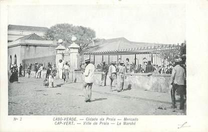 """CPA CAP VERT """"Ville de Praia"""", le Marché"""""""