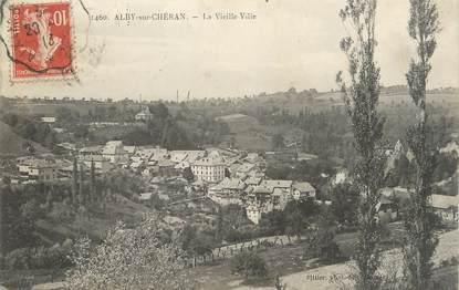 """.CPA  FRANCE 74 """" Alby sur Chéran,  La vieille ville"""""""