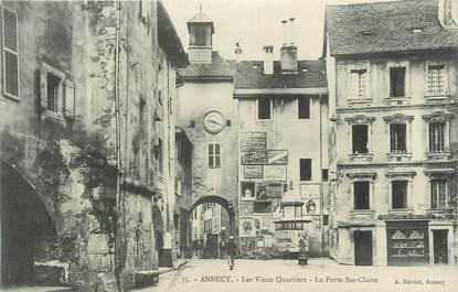 """.CPA FRANCE 74 """" Annecy, Les vieux quartiers"""""""