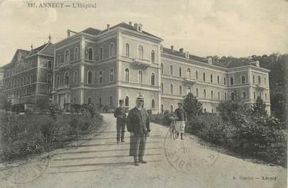".CPA FRANCE 74 "" Annecy, Hôpital"""