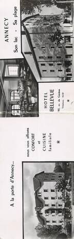 ".CPA LIVRET FRANCE 74 "" Annecy, Hôtel Bellevue"""
