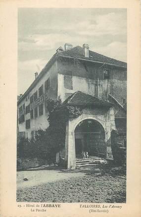 ".CPA FRANCE 74 ""Talloires, Hôtel de l'Abbaye"""