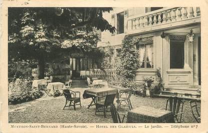 ".CPA FRANCE 74 ""Menthon St Bernard, Hôtel des Glaieuls"""