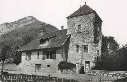 """.CPSM FRANCE 74 """"Menthon St Bernard, Le presbytère"""""""