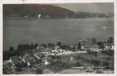 """.CPSM FRANCE 74 """"Chavoires, Vue vers Annecy"""""""
