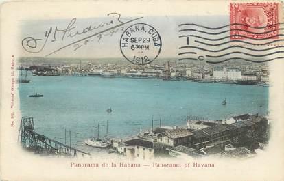 "CPA  CUBA ""Panorama de la Havane"""