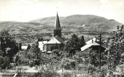 """.CPSM FRANCE 74 """" Lucinges, L'église et le Salève"""""""