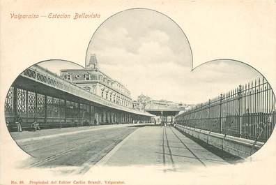 """CPA CHILI """"Valparaiso, la gare"""""""