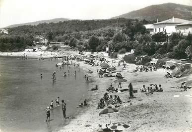 """CPSM FRANCE 83 """" Les Issambres, la plage San Peïre"""""""