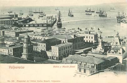 """CPA CHILI """"Valparaiso, le port"""""""
