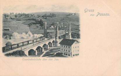 """CPA ALLEMAGNE """"Gruss aus Passau"""""""