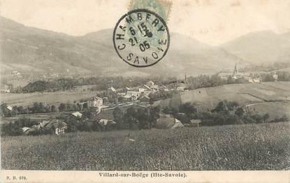 ".CPA  FRANCE 74 ""  Villard sur Boëge """