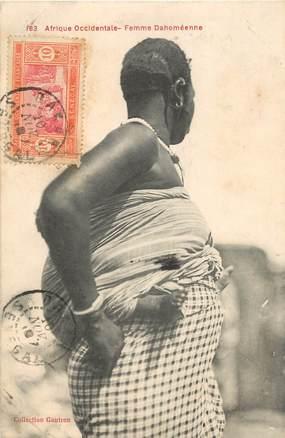 """CPA DAHOMEY """"Femme Dahoméenne"""""""
