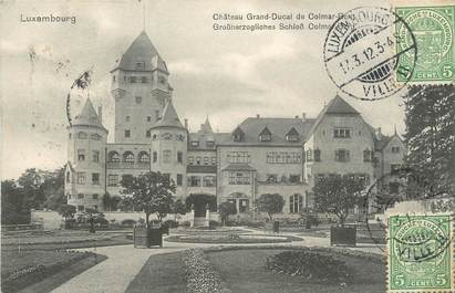 "CPA LUXEMBOURG "" Chateau Grand Ducal de Colmar Berg"""