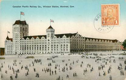 "CPA CANADA ""Montreal, Windsor Station"""