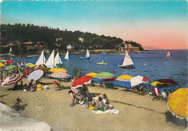 """CPSM FRANCE 83 """" Le Lavandou, la plage"""""""