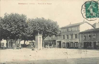""".CPA FRANCE 69 """" Bessenay, Place de la Pompe  """""""
