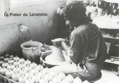 """CPSM FRANCE 83 """" Le  Lavandou,  le potier"""""""