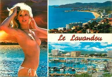 """CPSM FRANCE 83 """" Le Lavandou"""" NU"""