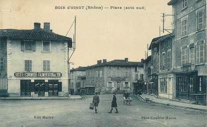 """.CPA FRANCE 69 """" Bois d'Oingt, La place"""""""