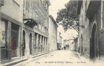""".CPA FRANCE 69 """" Bois d'Oingt, La Poste"""""""