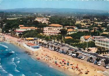 """CPSM FRANCE 83 """" Saint Cyr les Lecques, vue aérienne, la plage"""""""