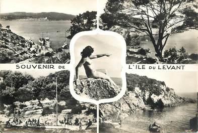 """CPSM FRANCE 83 """" Ile du Levant""""  / NU"""