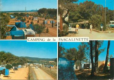 """CPSM FRANCE 83 """"La Londe, camping de la pascalinette"""""""