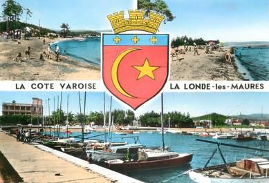 """CPSM FRANCE 83 """"La Londe, la côte varoise"""""""