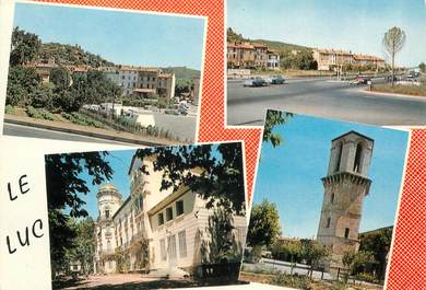 """CPSM FRANCE 83 """"Le Luc en Provence, souvenir"""""""