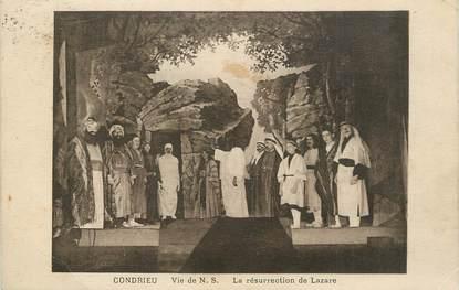 """.CPA  FRANCE 69 """" Condrieu, La résurrection de Lazare"""""""