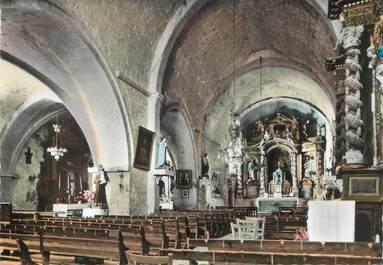 """CPSM  FRANCE  83 """" Mons, intérieur de l'Eglise"""""""