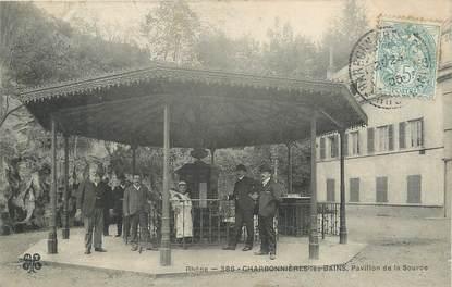 """.CPA FRANCE 69 """"Charbonnières les Bains, Pavillon de la Source"""""""