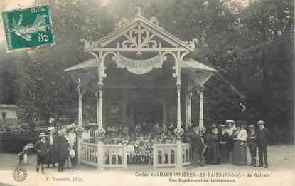 """.CPA FRANCE 69 """"Charbonnières les Bains, Le casino, théatre Guignol"""""""