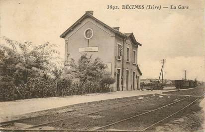""".CPA FRANCE 69 """"Décines, La gare"""""""