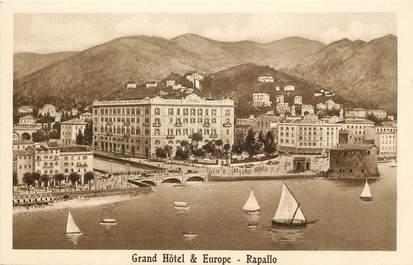 """CPA ITALIE """"Rapallo, Grand Hotel """""""