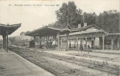""".CPA  FRANCE 69 """" Feysin, La gare"""""""