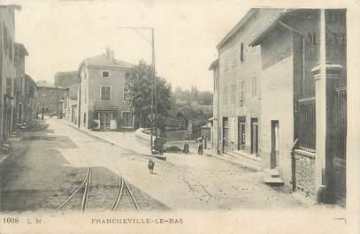 """.CPA  FRANCE 69 """" Francheville le Bas"""""""