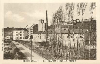 """.CPA  FRANCE 69 """" Gleizé, Les grands moulins Seigle"""""""