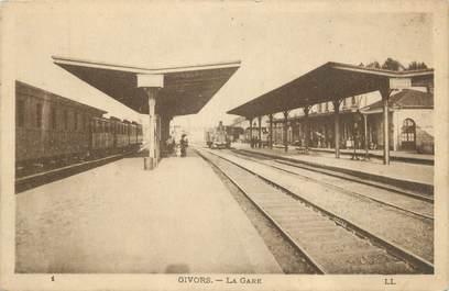 """.CPA FRANCE 69 """" Givors, La gare"""" / TRAIN"""