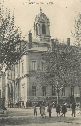 """.CPA FRANCE 69 """" Givors, Hôtel de Ville"""""""