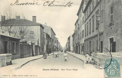 ".CPA FRANCE 69 "" Givors,  Rue Victor Hugo"""