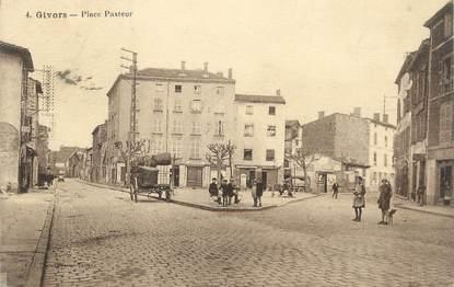 ".CPA FRANCE 69 "" Givors,  Place Pasteur"""