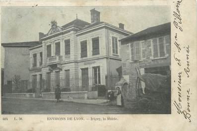 ".CPA FRANCE 69 ""Irigny, La Mairie"""
