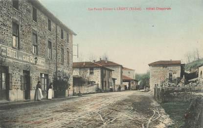".CPA  FRANCE 69 ""Légny, Les Ponts Tarrets, Hôtel Chapiron"""